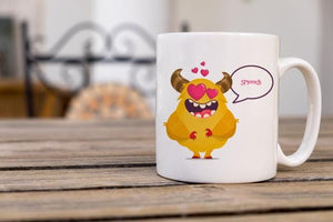 Monster Love Coffee Mug - Potter's Printing