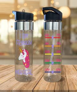Water Bottle Magical Unicorn - Potter's Printing