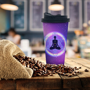 Meditating Coffee Tumbler - Potter's Printing
