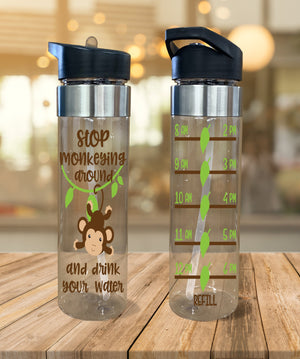 Water Bottle Stop Monkeying Around - Potter's Printing