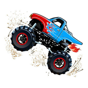 Monster Truck Personalized Tissue Paper - Potter's Printing