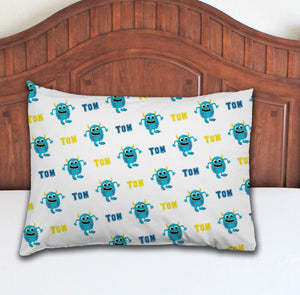 Monster Personalized Pillowcase - Potter's Printing