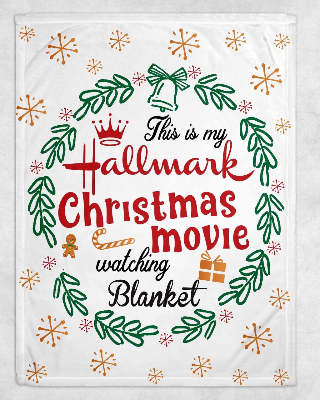 Hallmark Movie Fleece Blanket - Potter's Printing