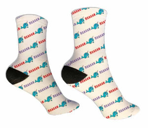 Narwhal Personalized Socks - Potter's Printing