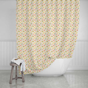 Palm Trees & Pineapples Persoanlized Shower Curtain - Potter's Printing
