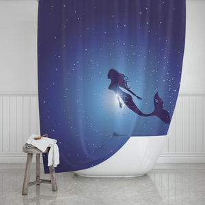 Mermaid Shower Curtain - Potter's Printing