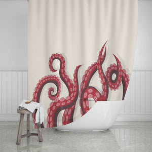 Octopus Shower Curtain - Potter's Printing