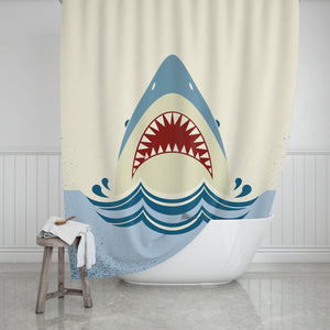 Shark Shower Curtain - Potter's Printing