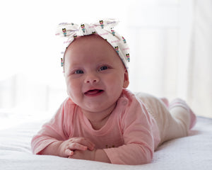 Doll Personalized Baby Headband - Potter's Printing