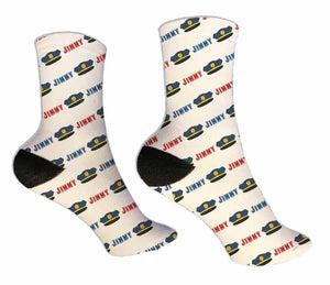 Police Officer Personalized Socks - Potter's Printing