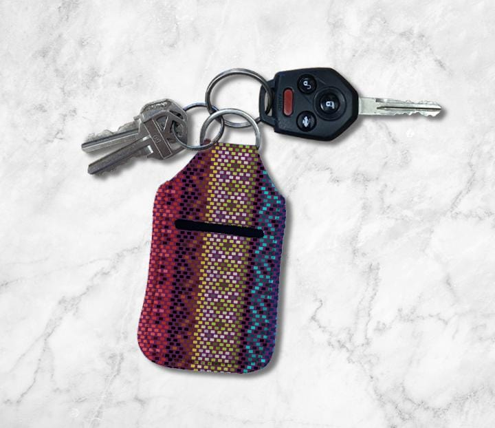 Serape Hand Sanitizer Holder