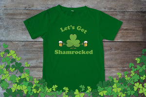 Graphic TEE St. Patrick's Day Shamrocked - Potter's Printing