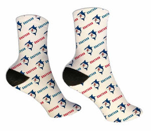 Shark Personalized  Socks - Potter's Printing