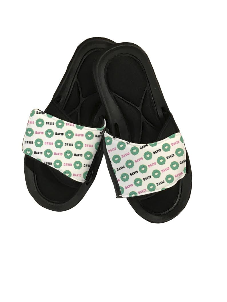 Donut Personalized Slide Sandals - Potter's Printing