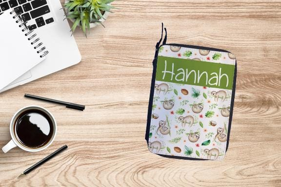 Personalized Sloth Drawing Set
