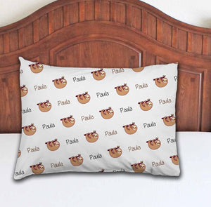 Sloth Personalized Pillowcase - Potter's Printing