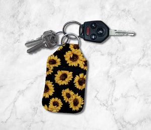Sunflowers Hand Sanitizer Holder