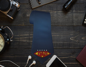 Super Dad Neck Tie - Potter's Printing