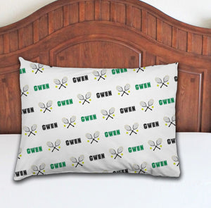 Tennis Personalized Pillowcase - Potter's Printing