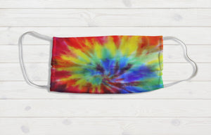 Tie Dye Face Mask - Potter's Printing