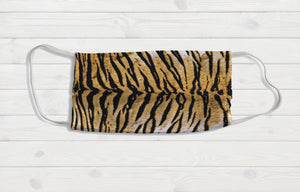 Tiger Fur Face Mask - Potter's Printing