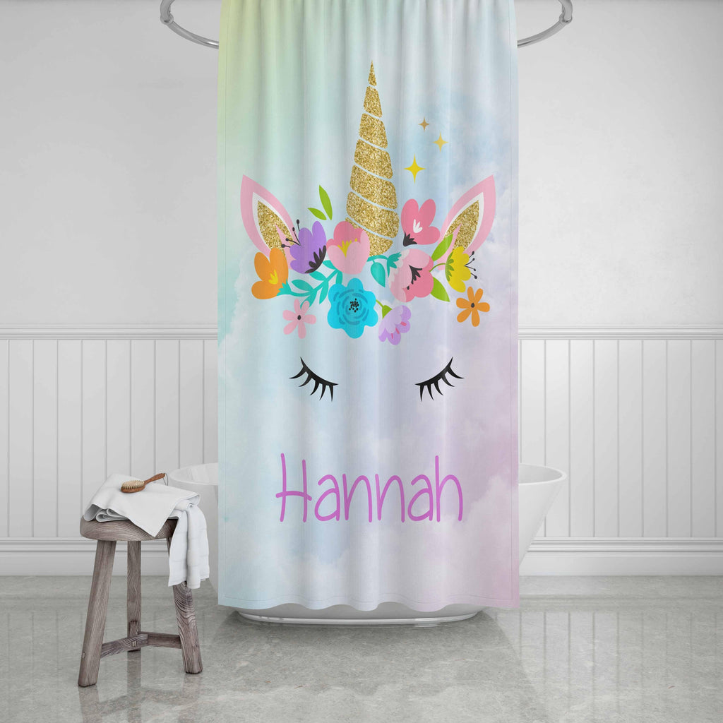 Unicorn Shower Curtain - Potter's Printing