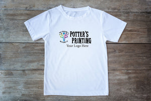 Custom Logo Short Sleeve TEE Shirt - Potter's Printing