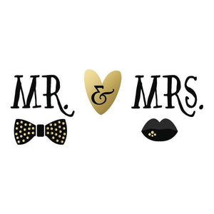 Wedding Mr. and Mrs. Personalized Tissue Paper - Potter's Printing