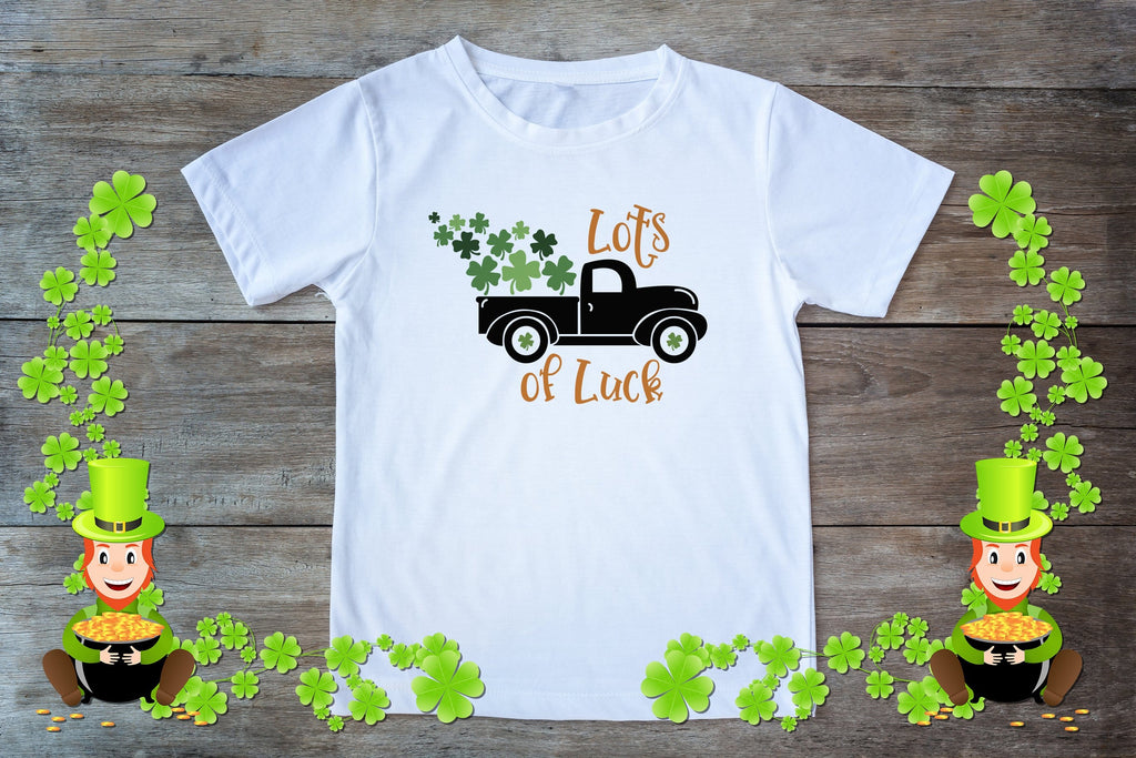Youth Graphic TEE St. Patrick's Day Truck - Potter's Printing