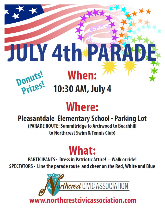 2016 Northcrest July 4th Parade