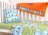 Monster Cot Bedding Set