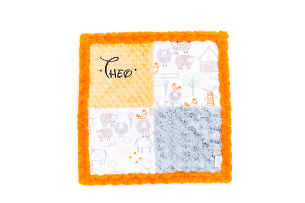 Personalised Patchwork Snuggle Blanket