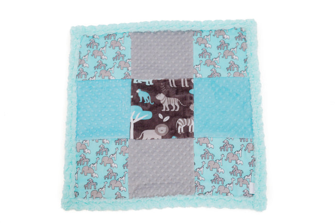 Personalised Patchwork Travel Blanket