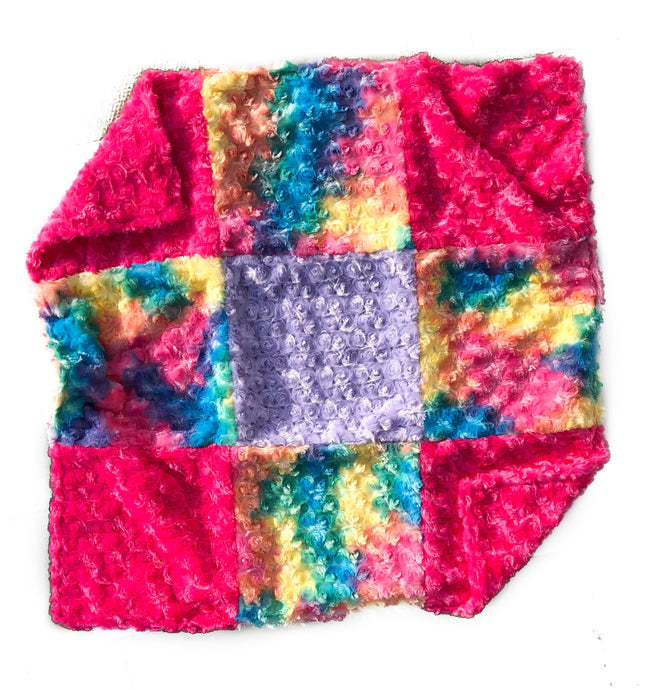 Rainbow Rose Dream Blanket