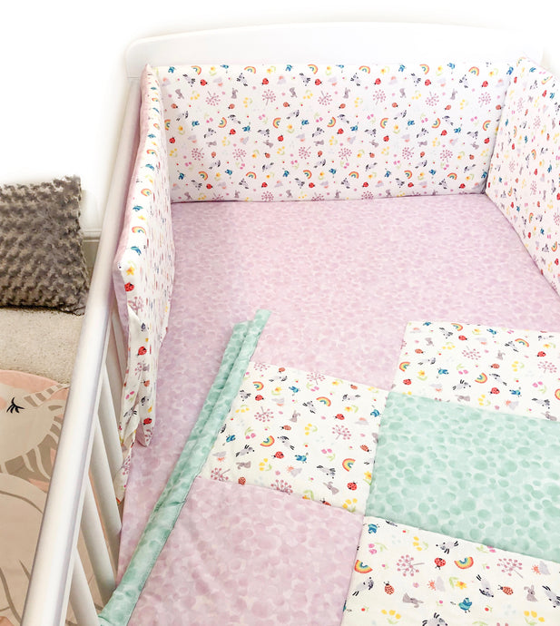 Lucky Charm Cot Bedding Set