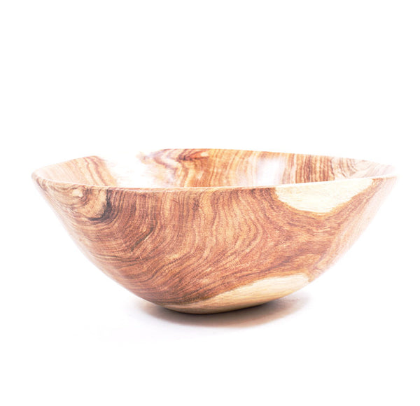 Hand Carved Wooden Bowl