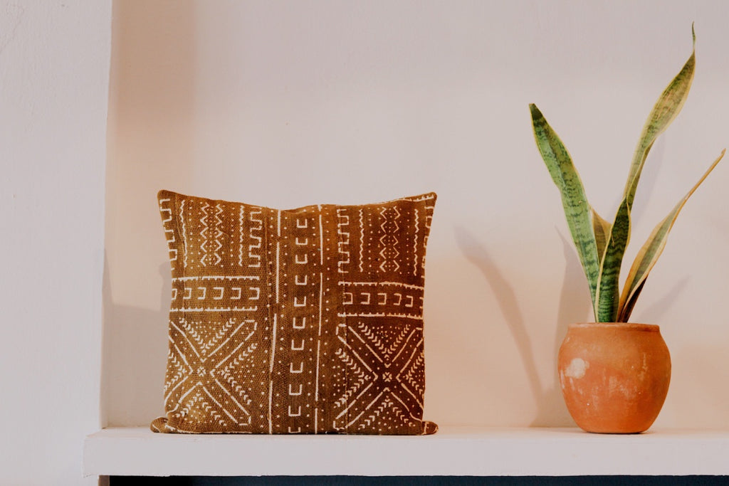 Mims Mud Cloth Pillow