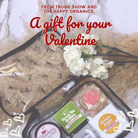 Trunk Show X Happy Organics Valentine's Day Set