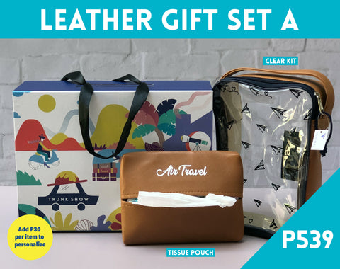 Leather Gift Set b