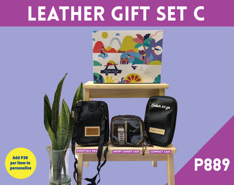 Leather Gift Set C