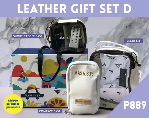 Leather Gift Set D