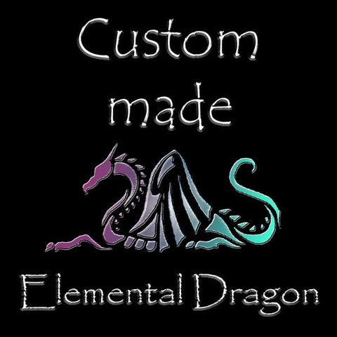 Custom made Elemental Dragons of your own.......