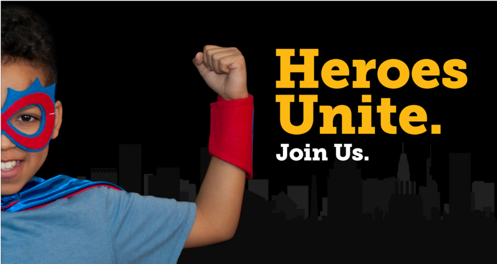 Ready to Be a Hero and Empower Students at a Baltimore City Title1 School?
