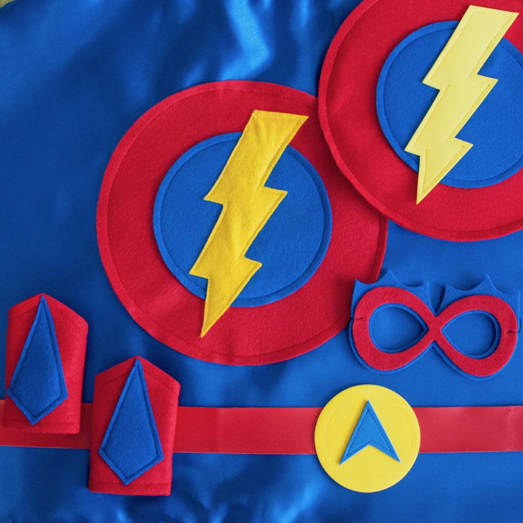 Ultimate Set - Lightning Bolt - Creative Capes