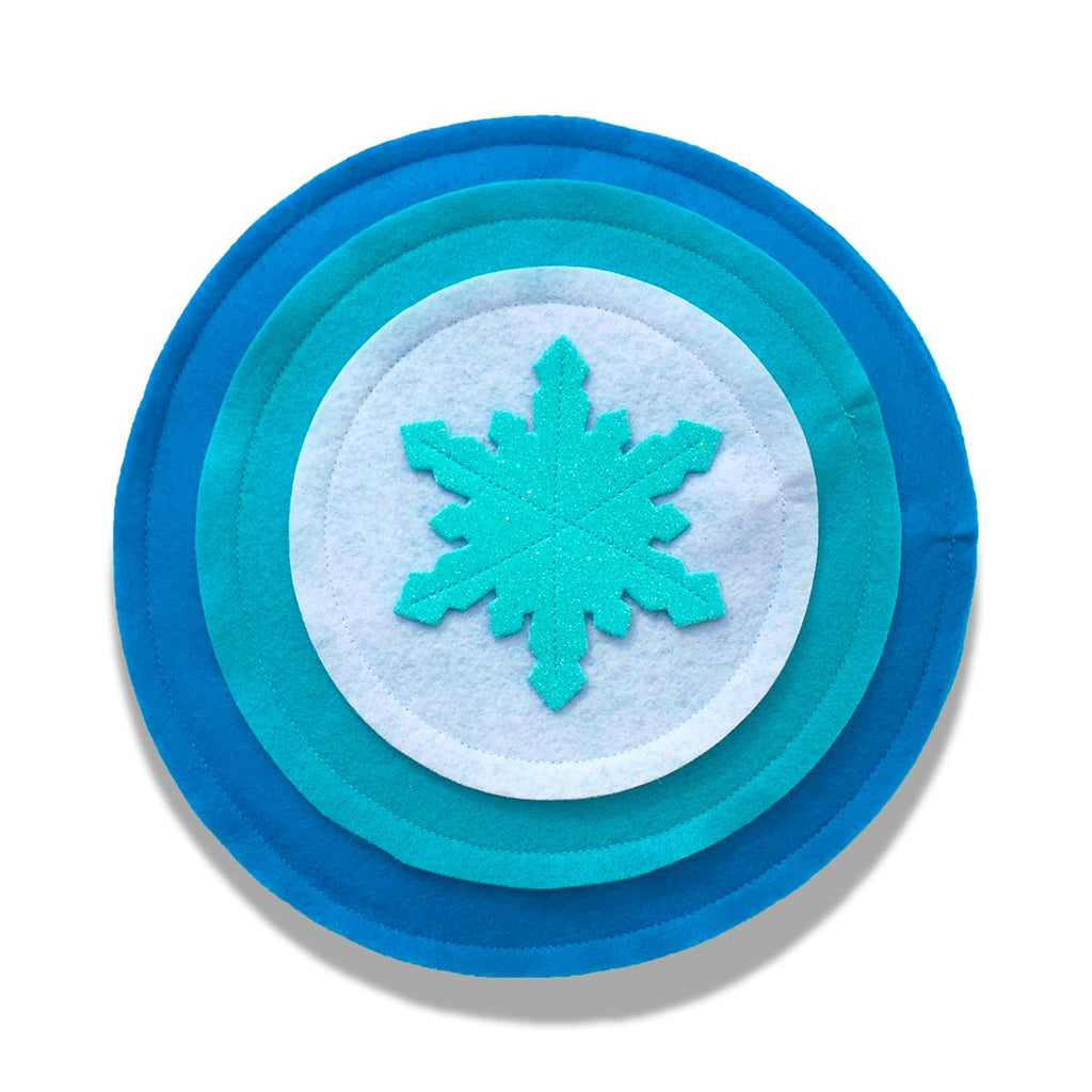 Kids Superhero Shield - White/Light Aqua/Aqua - Creative Capes