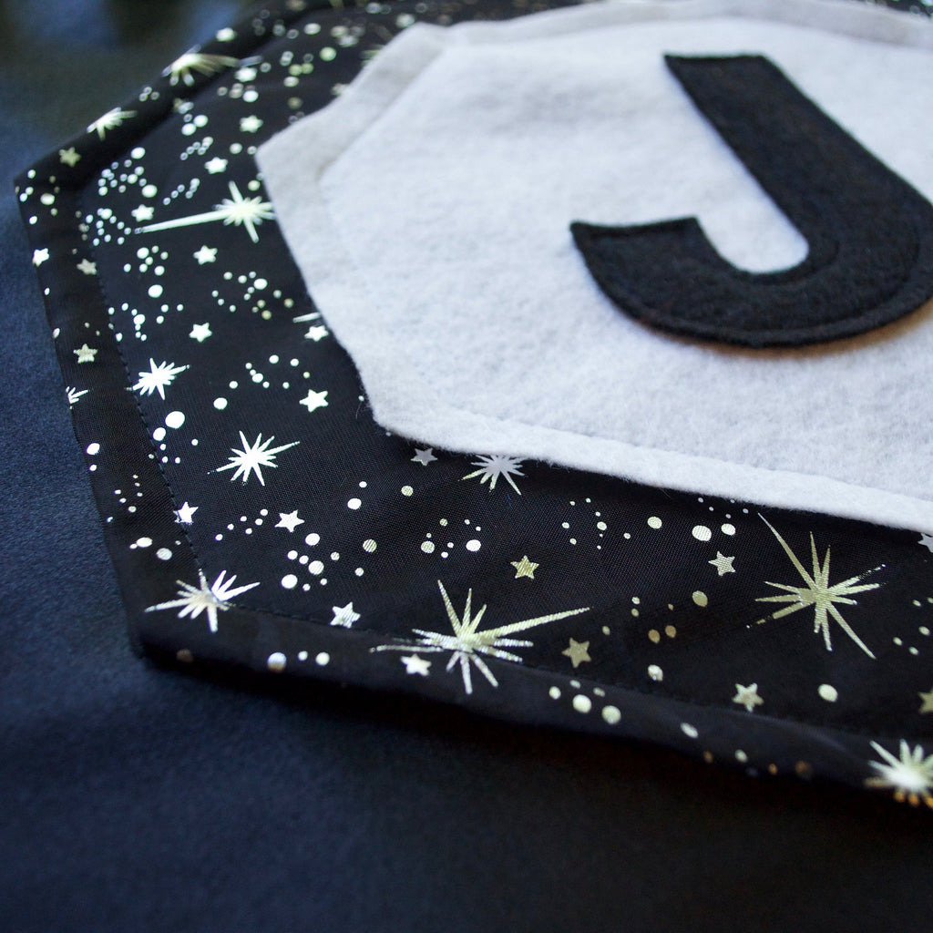 Kid's Initial Cape Special Edition- Galaxy - Creative Capes