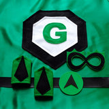 Super Set - Green - Creative Capes