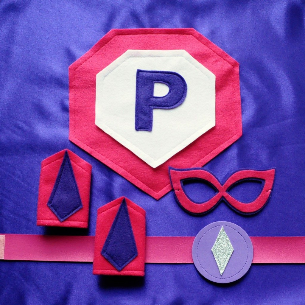 Super Set - Purple - Creative Capes