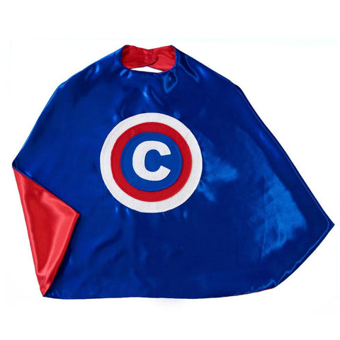 Kid's Initial Cape - Red, White and Blue - Creative Capes
