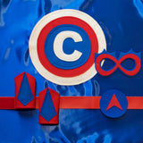 Super Set - Red, White, and Blue - Creative Capes